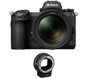 Nikon Z 6II with 24-70mm f/4 and FTZ